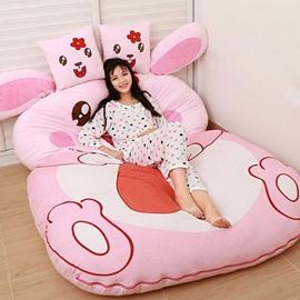 Lovely Soft Rabbit Design Lazy Sofa Tatami Seat