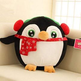 Christmas Style Cartoon Penguin Design Back Curshion