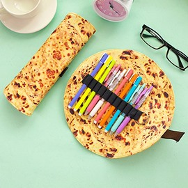 Creative Pancake Design PU Pencil Case