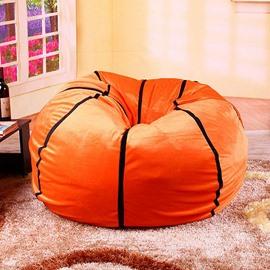 Super Soft Creative Basketball Design Bean Bag Chair
