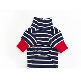 Stripes Pattern Cotton Black&White Dog T-Shirt