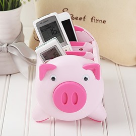 Detachable Pig Shape ABS Cute Storage Box