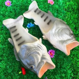 Fish Shape Fashion Design Men&Women Slipper