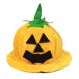 Halloween Decor Pumpkin Round Funny Hat