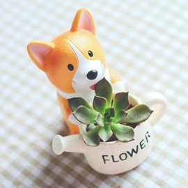 Cute Animal Shaped Cartoon Home Decoration Vase Flower Pots