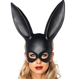 Rabbit Lady Sexy Halloween PVC Cosplay Mask