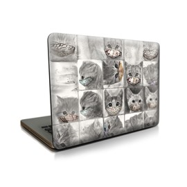 Adorable Cat Pattern Hard Plastic Cover for MacBook