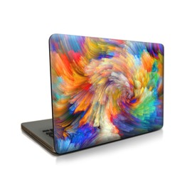 Mysterious Color Pattern Hard Plastic Cover for MacBook
