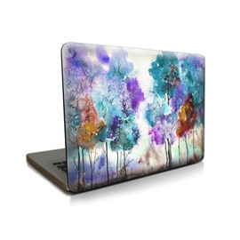 Oil Painting Forest Pattern Hard Plastic Cover for MacBook