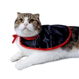 Halloween Cosplay Costume Vampire Cloth for Small Dogs Cat Witch Cloak