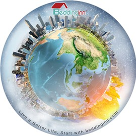 Beddinginn World View Non Slip Rubber Mouse Pad