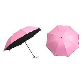 Floral Painted Sun Proof Rainproof Full Body Umbrella for Women