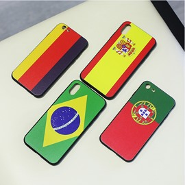 World Cup Theme Bas Relief Technics TPU&PC Material Mobile Phone Shells