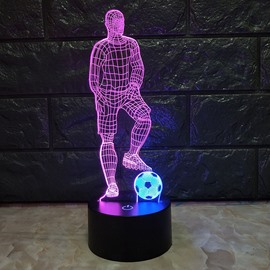 World Cup Theme Acrylic Material Luminous Function Traditional Chinese Style Light