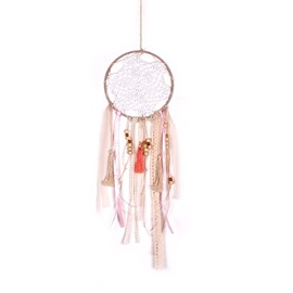 Feather Cotton Dreamcatcher Birthday Gift Hand Knitting Girl Style