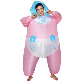 Funny Cartoon Baby Inflatable Clothing