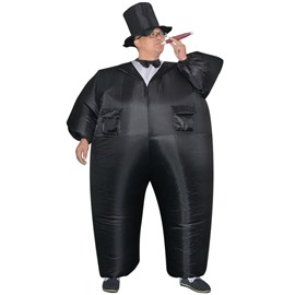 Funny Black Groom Inflatable Costume