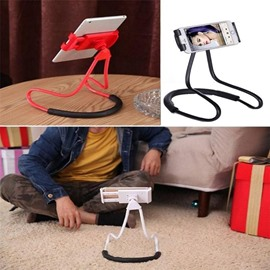 Neck Cell Phone Holder for Desk Bed Bike and Motorcycle Phone Mount
