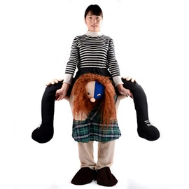Ride on the Back Hilarious Inflatable Costumes for Adult