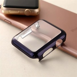 Ultrathin Electroplating PC Simple Style Iwatch Smart Cover