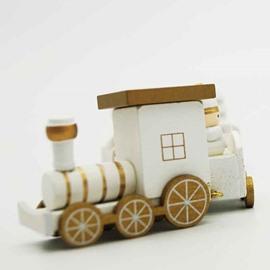Original 3-color Toy Train Christmas Decoration