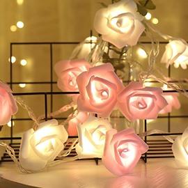 Vivid Romantic LED Rose String Light