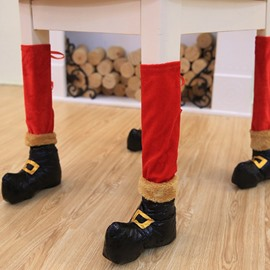 Good-quality Chair Leg Socks Christmas Decoration Set of 4