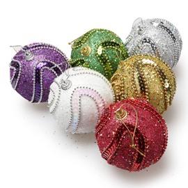 Christmas Stickers Diamond Chain Gold Powder Ball
