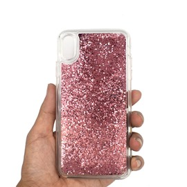 Pure Color Flowing Glitter Customizable Color Phone Case