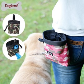 Camouflage Pet Training Bag Outdoor Snack Bag