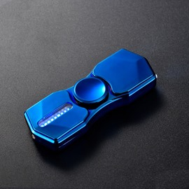 Multifunctional Colorful Flash Emergency Light Cigarette Lighter USB Charging Fidget Spinner