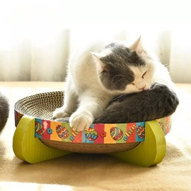 The Perfect Way to Scratch And Rest Cat Cardboard Gift