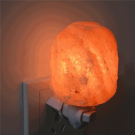 Amazing and Natural Crystal Salt Lamp Home Decoration LED Light
