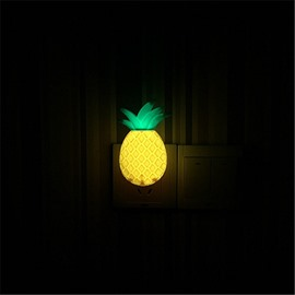 Decorative and Creative Korean Style Lovely Pineapple Home Decoration LED Night Light