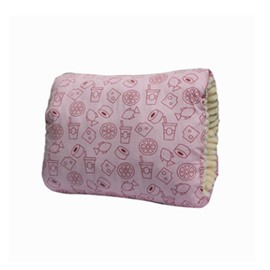 Pink Fruits Print Simple Style Nursing Breastfeeding Pillow