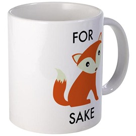 Bargain Cute and Lovely Ceramics Fox Cups Creative Birthday Gift Cups and Mugs