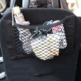 Velcro Attachable Anywhere Mini Cargo Net For Car Organizing