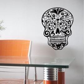 Skull Wall Vinyl Decal Sticker Art Graphic Sticker