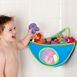 Bath Toy Organizer Bathtub Toys Holder Storage Net Corner Mesh Hammock