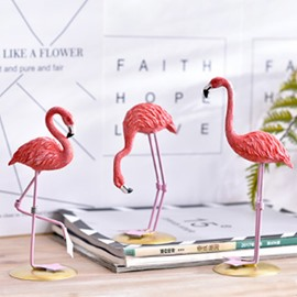 Flamingo 3 Piece Kinds of Posture Decor Room Desktop Decorations