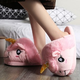 Unicorn Shape Design Super Soft and Warm Winter Slipper