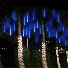 30cm 8 Tubes Meteor Shower Rain Lights Snow Falling for Christmas