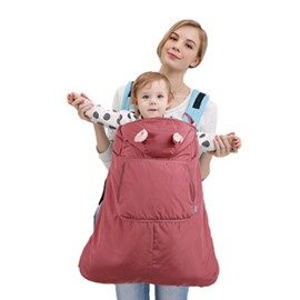 Universal Winter Warm Cloak Carrier Cover for Baby Carrier