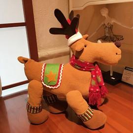 Little Deer Home Desk Decor Cute Merry Christmas