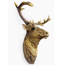 Elk Merry Christmas High Quality Wall Art