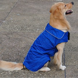 Dog Jacket Waterproof Fleece Winter Warm Pet Cloth