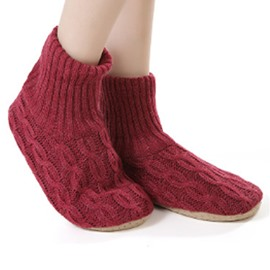 Soft Slippers Socks for Winter Women Floor Footwear Fashion