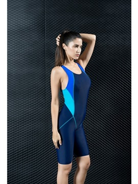 Racerback Tight Sleeveless High Quality Fabrics Women's Swimwear