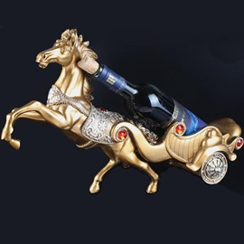 European Style High-end Horse Design Wine Rack
