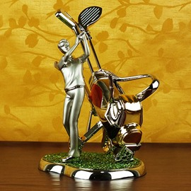 European Creative Playing Golf Wine Rack
